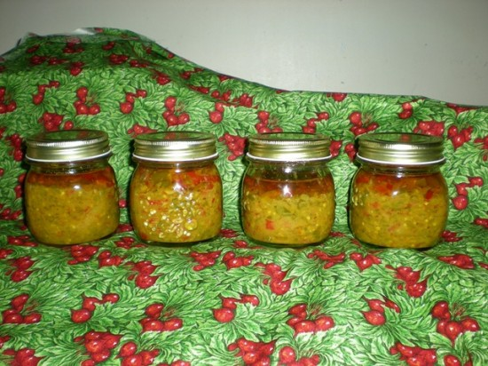 Hot Chili Chutney