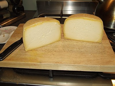 Caerphilly Cheese - one month old