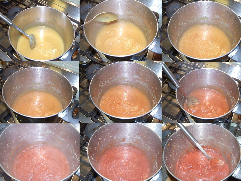 Quince Paste time lapse