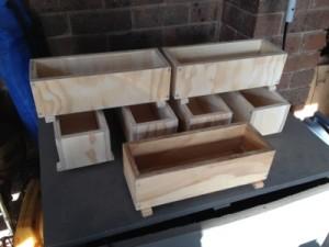 Wooden soap moulds