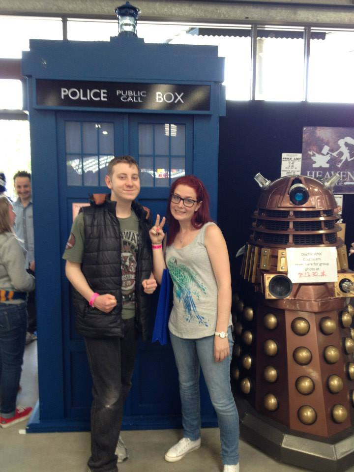 Amy and Ben at Armageddon