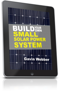 Build Your Own Small Solar Power System 3D Tablet