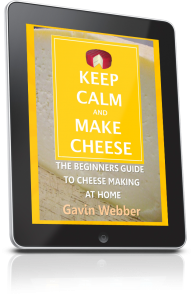 Keep Calm and Make Cheese 3D Tablet