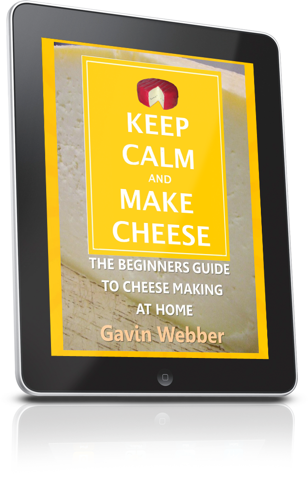 Keep Calm & Make Cheese eBook
