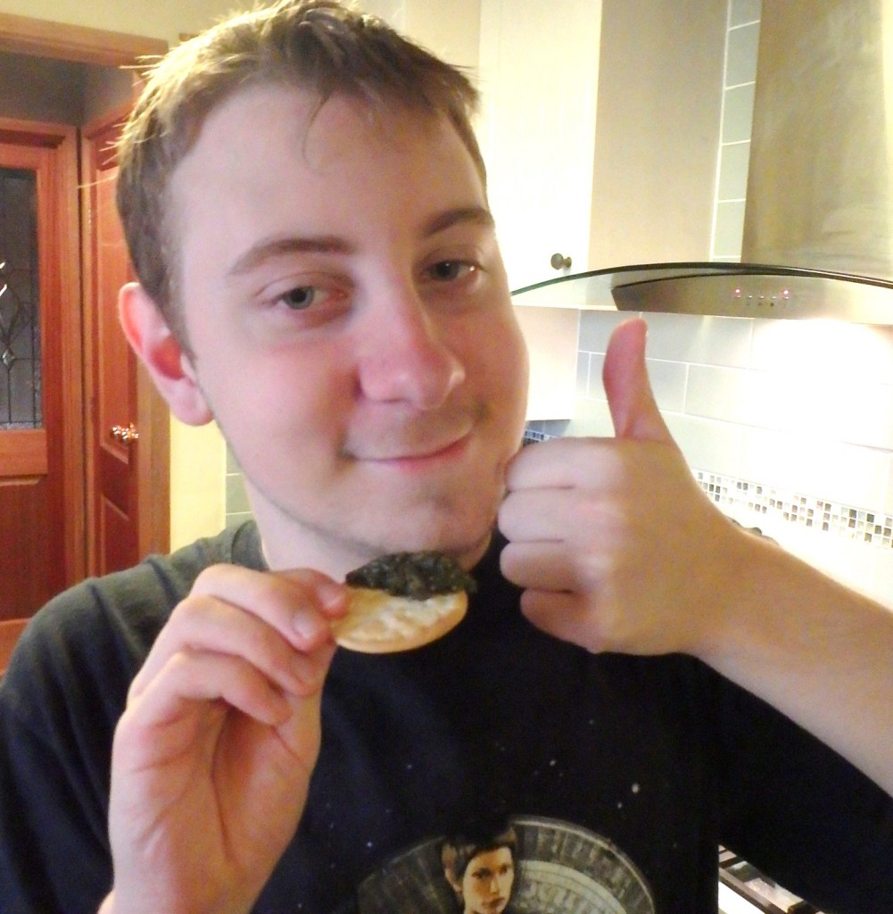 Thumbs up by Ben the budding chef