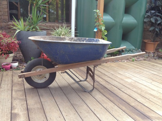 Repairing my wheelbarrow save me $250