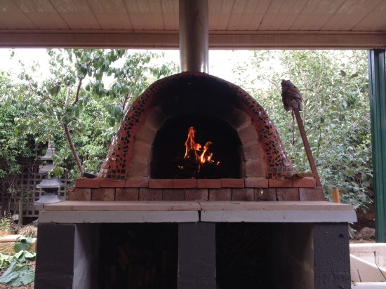 Backyard Clay Oven