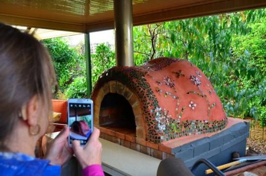 Backyard Clay Oven