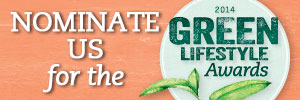 Nominate this blog for a 2014 Green Lifestyle Award