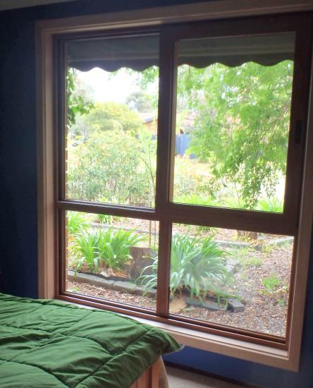 Our new bedroom double glazed window unit