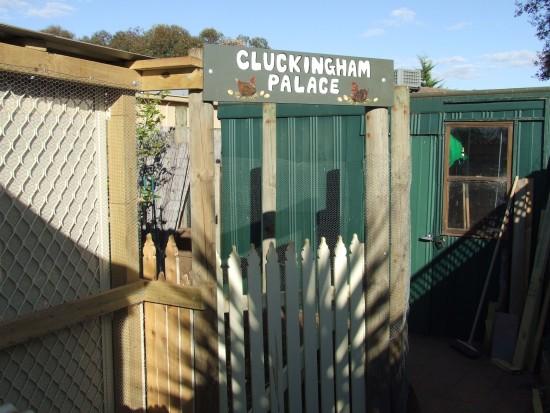 Cluckingham Palace