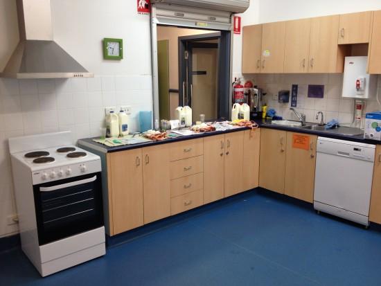 Melton South Community Centre Training Kitchen