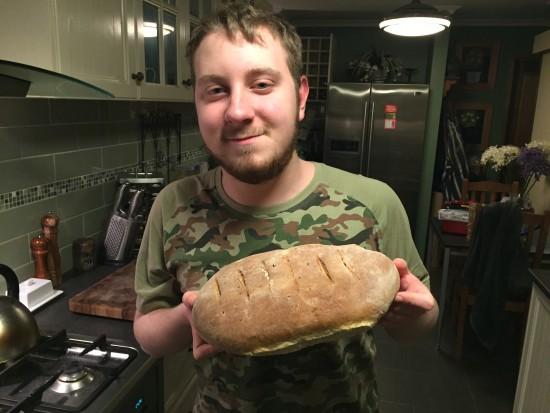 Ben Bakes Bread