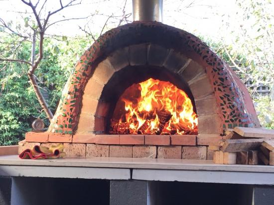 Backyard Clay Cob Oven