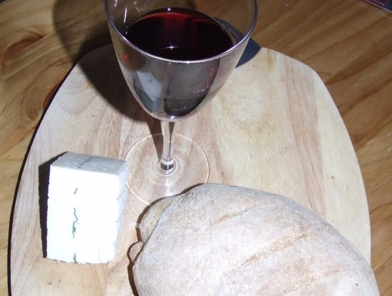 Bread wine and wensleydale