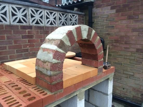 Arch brickwork