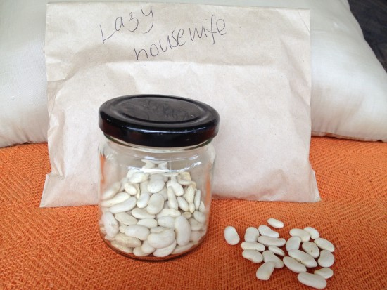Dried Lazy Housewife beans