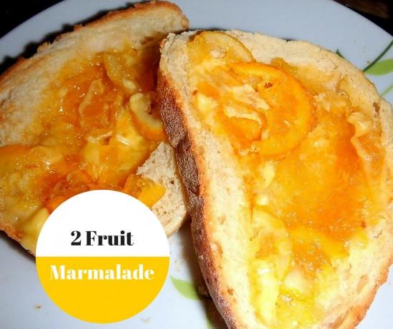 2 Fruit Marmalade