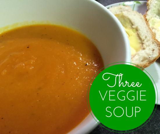 3 Veggie Soup