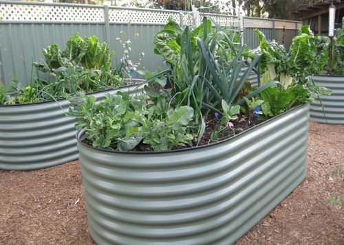 Colorbond garden beds. Source: http://gippslandtanks.com.au/garden_beds