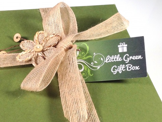 Little Green Gift Box packaging