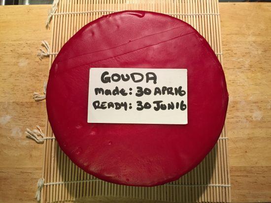 Waxed Gouda