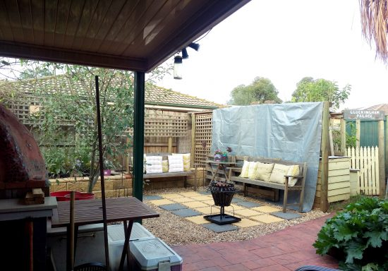 Area fully landscaped