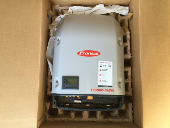 Inverter replaced - Fronius Galvo 3.0